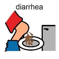 diarrhea的图片释义。 如果您认为该图片不合适,可以上传新图片来帮助我们改进