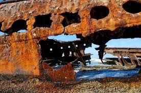 corrosion的图片释义。 如果您认为该图片不合适,可以上传新图片来帮助我们改进