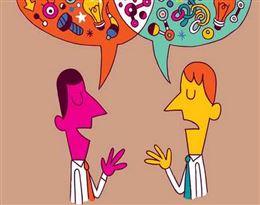 communicate的图片释义。 如果您认为该图片不合适,可以上传新图片来帮助我们改进
