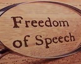 freedom of speech的图片释义。 如果您认为该图片不合适,可以上传新图片来帮助我们改进