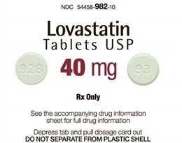 lovastatin的图片释义。 如果您认为该图片不合适,可以上传新图片来帮助我们改进